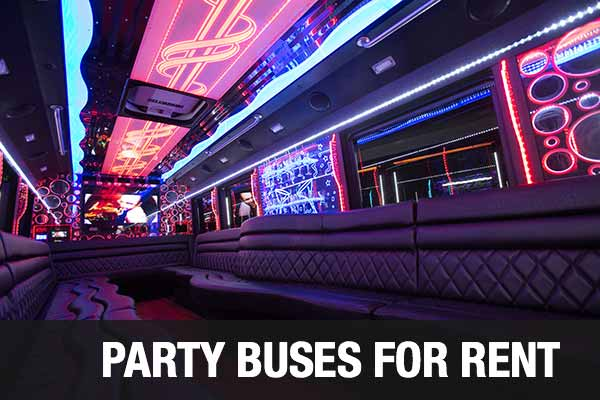 Charter Bus Party Bus Bakersfield