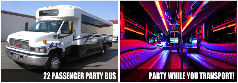 Wedding Transportation Party Bus Rentals Bakersfield