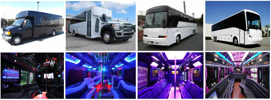 Wedding Transportation Party Buses Bakersfield