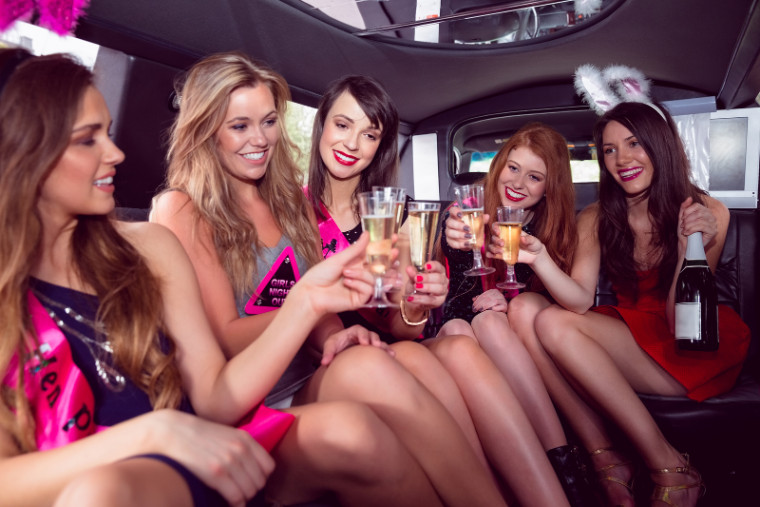 Bachelorette Party Bus Limo Bakersfield